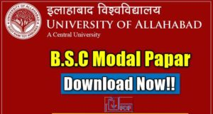 Allahabad University BSC Model Paper