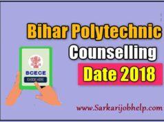 Bihar Polytechnic Counselling Date