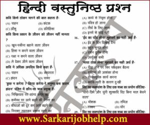 General Hindi Objective Book
