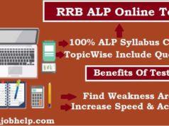ALP Online Test