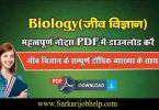 Paramount Biology Book PDF Download For Competitive Exams