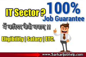 It Sector Jobs Details in Hindi | IT Kya hai ? IT Jobs 2020